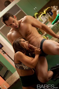 Madison Ivy Having Fun In The Kitchen - 15
