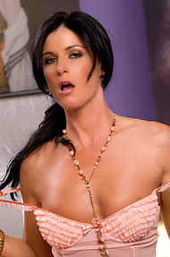 India Summer loves running her hands up and down her naked body - 03